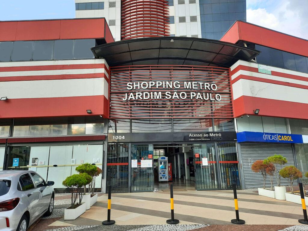 Fachada do Shopping Jardim São Paulo